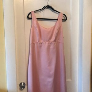 Simple pink gown. Size 14
